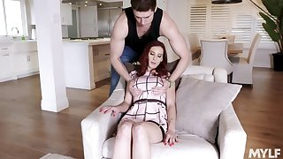 Sexy nextdoor milf Lilian Stone allows to fuck the brush big boobies increased by wet pussy
