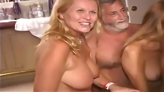 Older Ladies Get Crazy - hot coition party