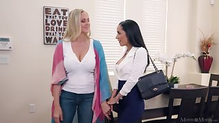 Marvelous scenes of real lesbian XXX with two top women