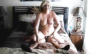 White Mature Has Lark With Inky Cock Friend