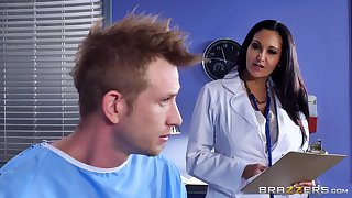 Marvelous portray with a blind feminine doctor with unselfish chest