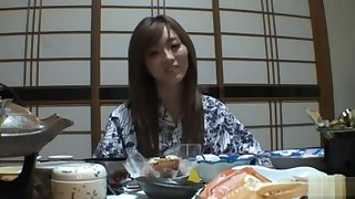 Traditional babe Rina Kato attempt a nice fuck thwart dinner.